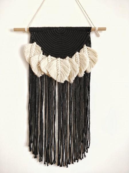Makramee-Wandbehang Talia 60 cm